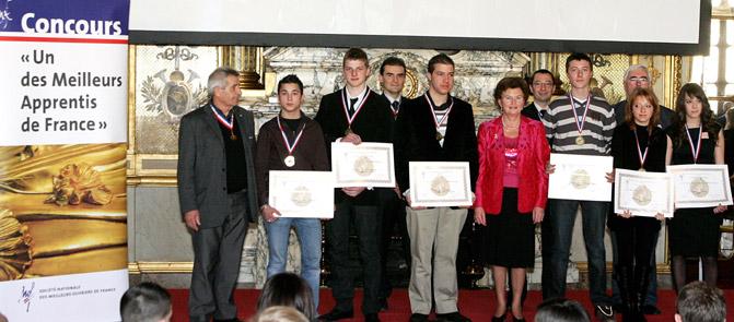 Les MAF nationaux du Rhone 2007, reçu au Senat
