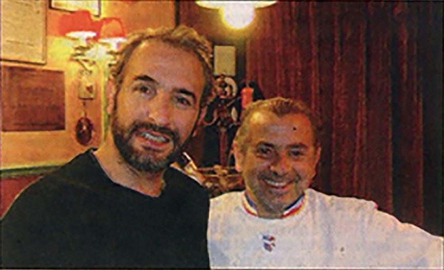 Jean Dujardin chez Joseph Viola