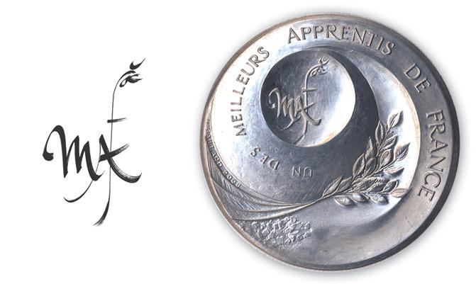 Medaille_MAF_B.Gaillard_N.Salagnac