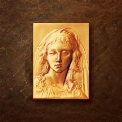 Visage de jeune fille par Nicolas Salagnac, d'après E. Vigée-Lebrun