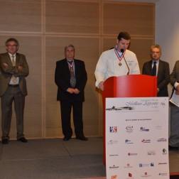Christian Janier, Président des MOF du Rhône. MAF Rhône et Drôme 2014