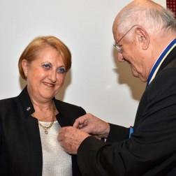 Lucienne Kohen, chevalier dans l'ordre des Palmes académiques