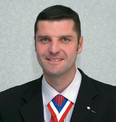 Christian Janier, président du groupement des Meilleurs Ouvriers de France du Rhône