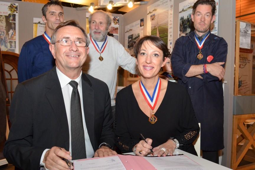 Signature CMA et MOF