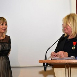 Florence Zoubidy, chevalier dans l'ordre des Palmes académiques