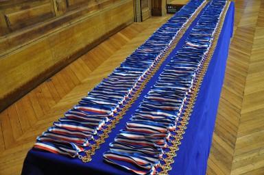 Les médailles MOF de la promotion Lucien Klotz
