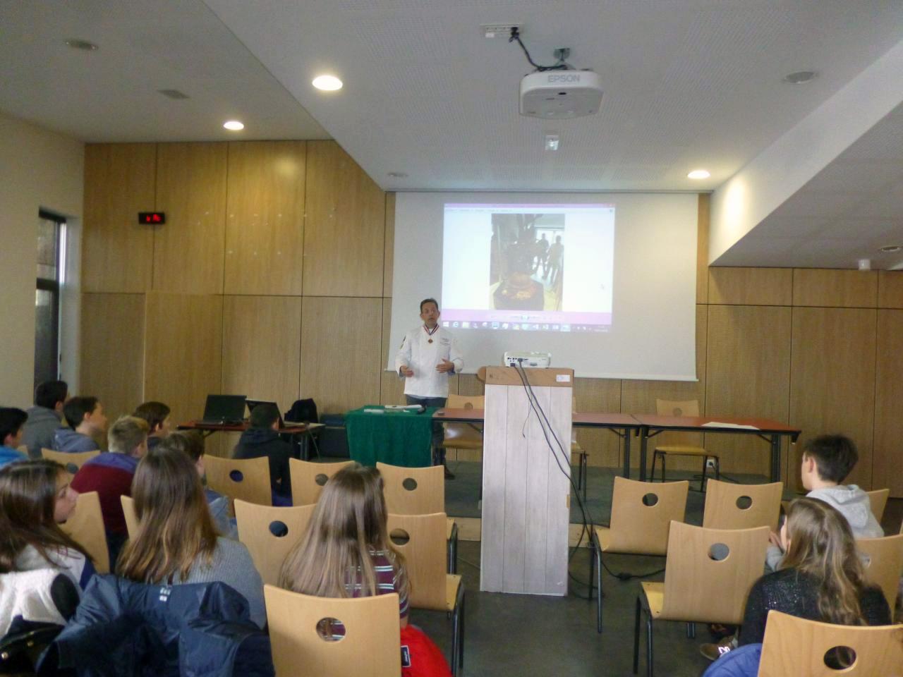 Pascal Molines collège Christiane Bernardin