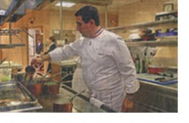 Guy Lassausaie, le chef doublement étoilé, MOF 1993,