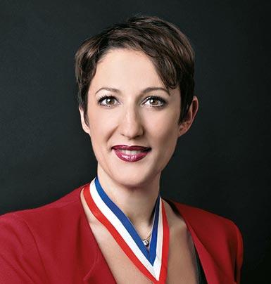 Carole Peyrefitte, esthéticienne MOF 2000