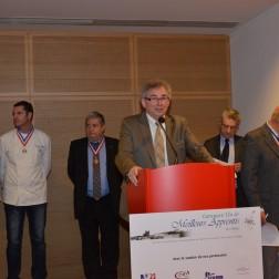 Alain Audouard, Président de la CMA du Rhône. MAF Rhone et Drome 2014