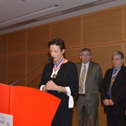Carole Peyrefitte, présidente des MOF de la région Rhône-Alpes