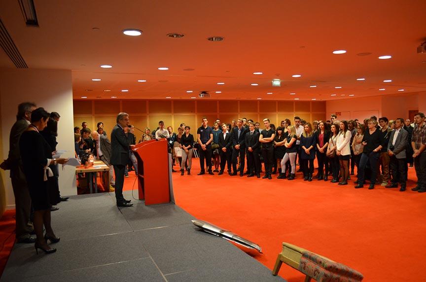 Remise des médailles aux MAF 2014 Rhône et Drôme