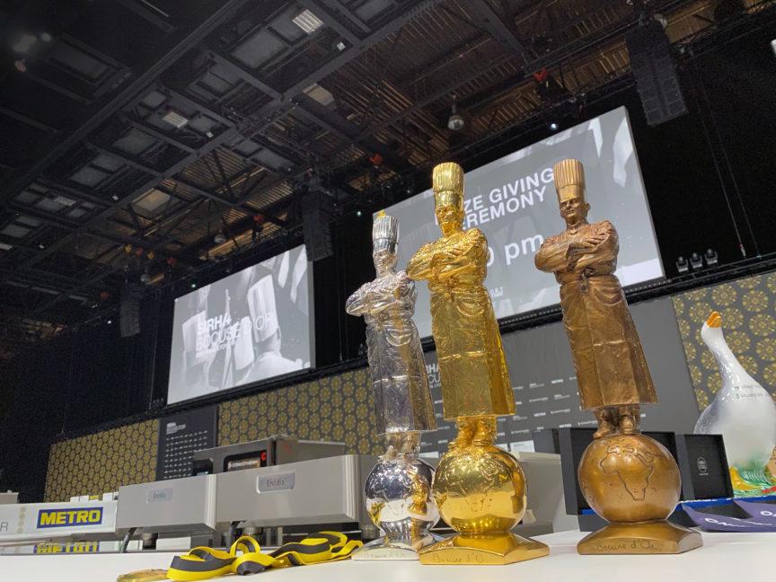 Les statuettes Bocuse d'or 2021